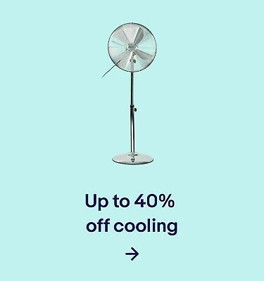 Up to 40% off cooling