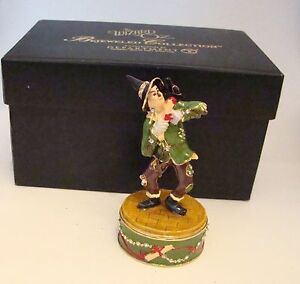 Dept-56-Jeweled-Trinket-Hinged-Box-SCARECROW-The-Wizard-of-OZ