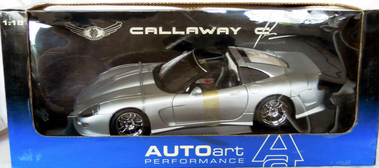 Autoart 71011  chevrolet corvette callaway c12, druckguss in 1   18, neu - und ovp