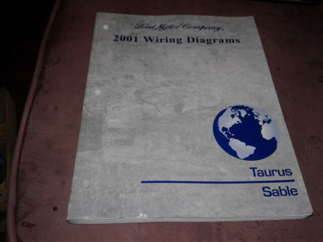 2001 Taurus    Sable Wiring Diagrams Manual