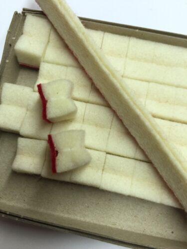 Premium Treble Damper Head Felt Set For Upright//Vertical Piano Repair 84 piece