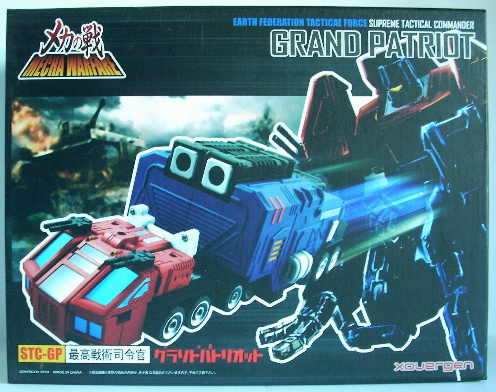 Transformers Xovergen STC-GP GRAND PATRIOT Tatical Commander - Green Variant