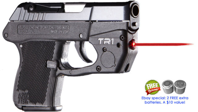ArmaLaser Tr1 Kel-tec Keltec P32 / P3at Super-bright Laser With Grip  Activation
