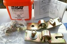NEW ISAT SEISMIC BRACKET SUPPORT ANCHOR BRACING EARTHQUAKE FREE SHIP USA ����
