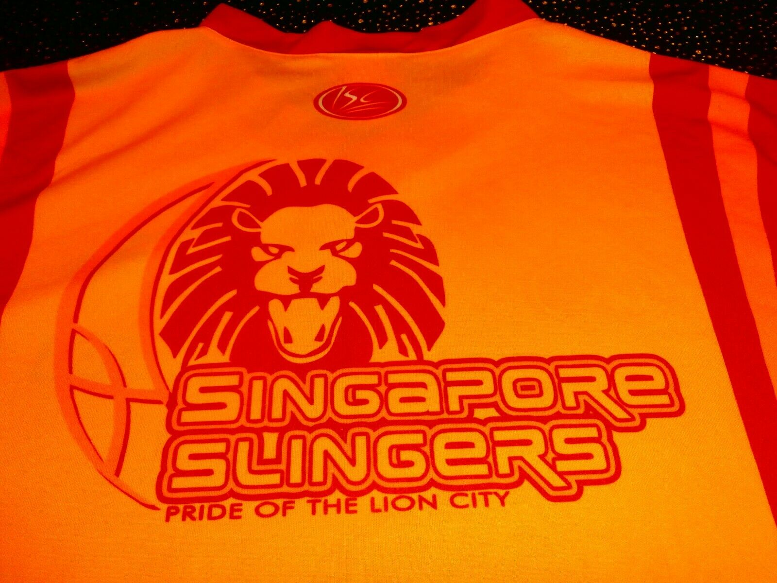 SINGAPORE SLINGERS NBL Basketball Jersey Shirt MENS XL VINTAGE RARE MADE IN OZ