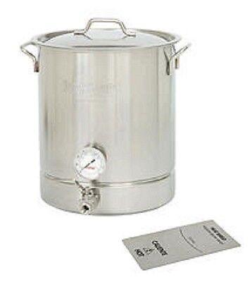8 Gallon Beer Brew Kettle or Fermenter and Mash Cooker for Moonshine Stil