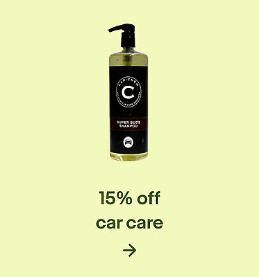 15% off car care