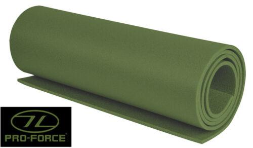 Armée de mousse tapis camping vert olive 3 saisons militaire isolation couchage rouleau
