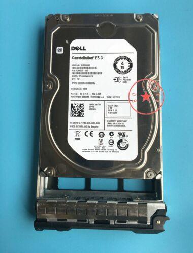 "DELL 529FG ST4000NM0023 9ZM270-150 4TB 7.2K SAS 3.5/"" HDD With bracket"