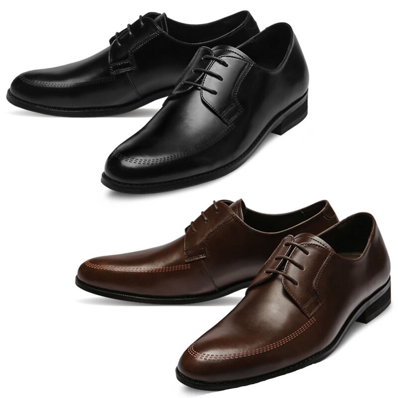 Mooda  Uomo Leder Dress Schuhes Classic Formal Oxfords Dress Leder Schuhes InaL CA 9191ab