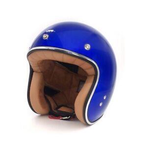 Casco Jet Vintage Nero Opaco Casco Moto MT Custom Rider Flag   eBay