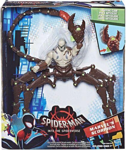 Spider-Man into the Spider-verse de Marvel Scorpion Deluxe Figure