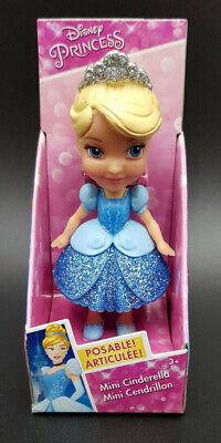 Disney NIB Mini Toddler Glitter Princess Blue Dress Cinderella