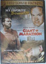 My Favorite Brunette / Giant Of Marathon / Jack and the Beanstalk (DVD, 2008)