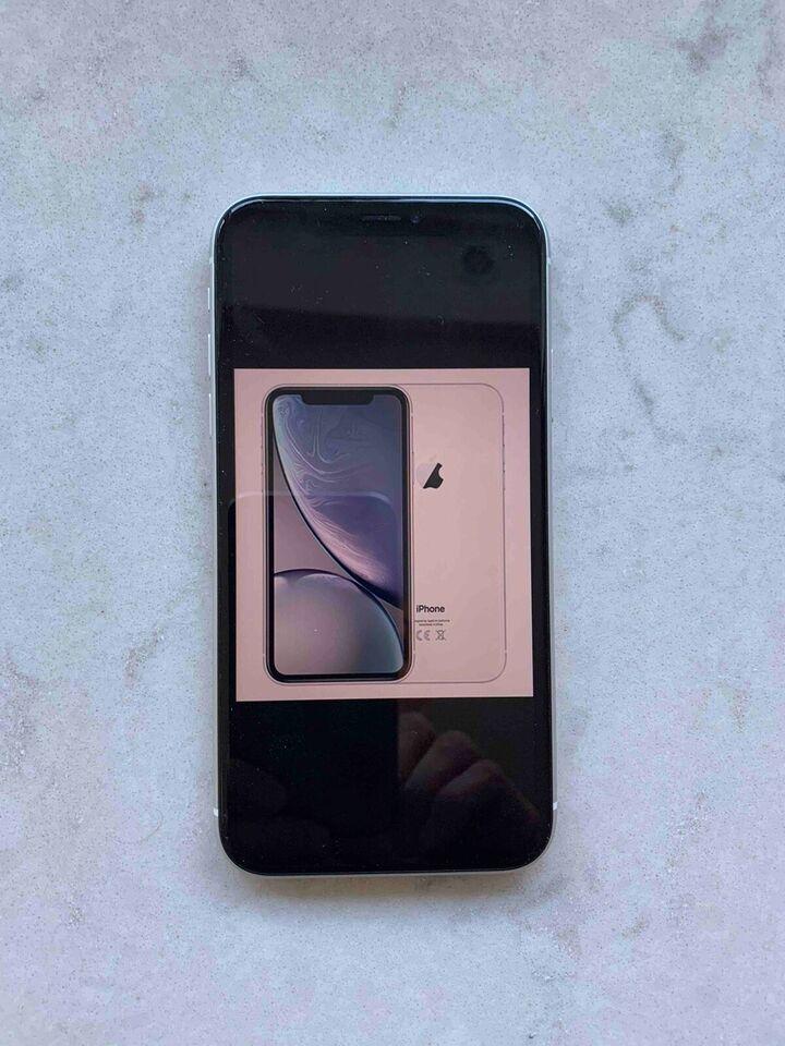 iPhone XR, 64 GB, hvid