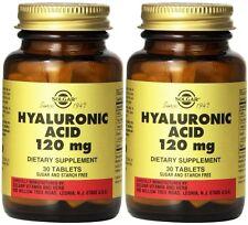 Solgar Hyaluronic Acid 120 mg 30T (2 Pack)