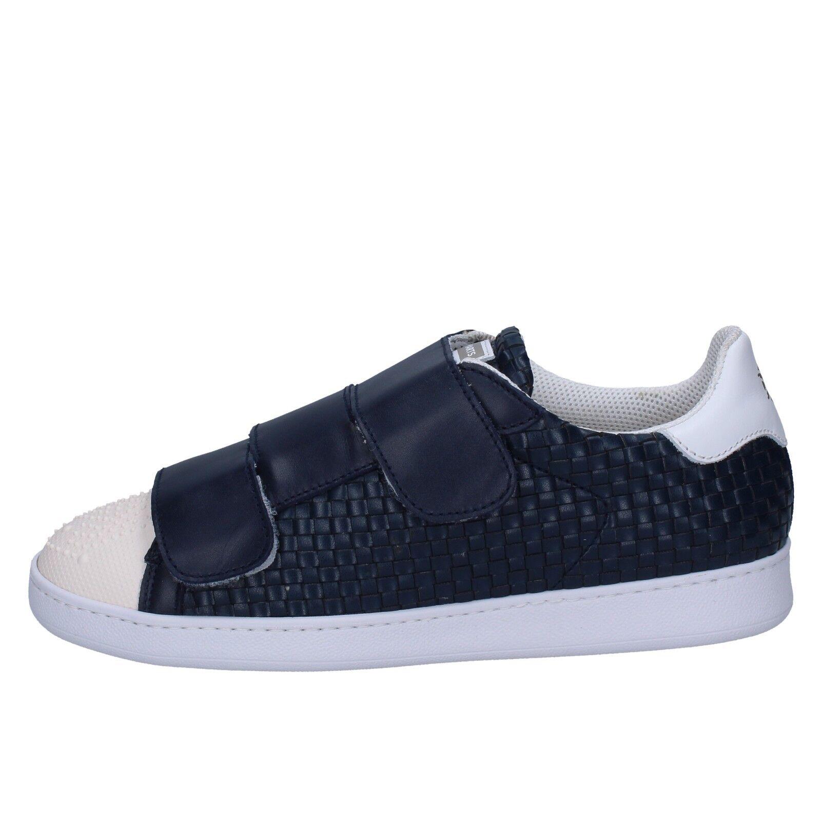 6d1c32d4120 ... Para Hombres Zapatos Zapatos Zapatos BRIMARTS 10 Zapatillas De Cuero  Azul BT590-43 ad96e1 ...