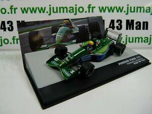 SEN11T-voiture-eaglemoss-1-43-F1-BRESIL-Formule-1-JORDAN-FORD-191-R-Moreno-1991