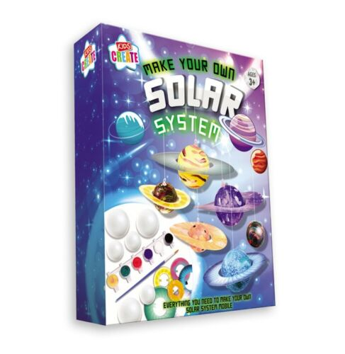 Make /& Paint Your Own Solar System Mobile Model Kit Childrens Science Craft SOSY