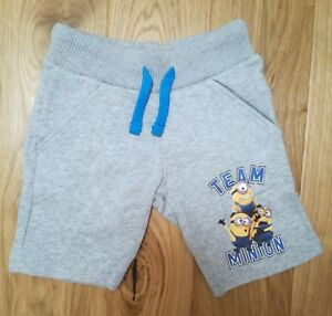 MINIONS Despicable Me Kids Bermuda Shorts Grey
