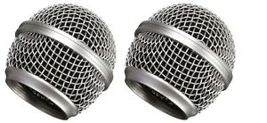 2-Pack-RK143G-Microphone-Grills-Replacement-for-Shure-SM58-Microphone-Handheld