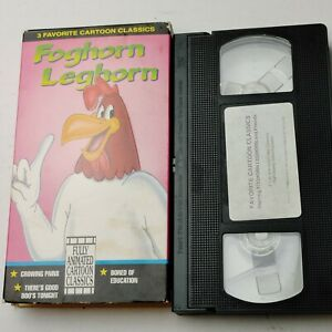 Foghorn-Leghorn-VHS-Color-Cartoons-Animated-Vintage-Video-Looney-Tunes-Tape-Rare