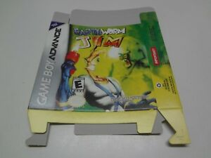 Earthworm-Jim-BOX-ONLY-Nintendo-Game-Boy-Advance-USA-NEW
