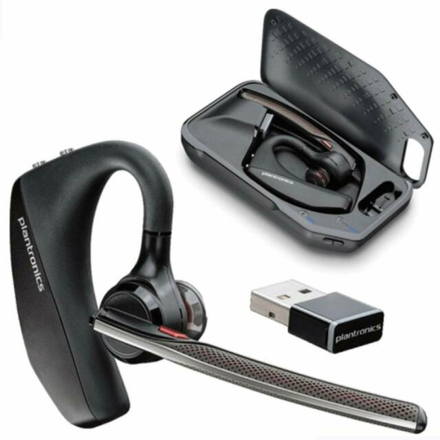 Plantronics Voyager 5200 Clear Premium Hd Bluetooth Headset For Sale Online Ebay