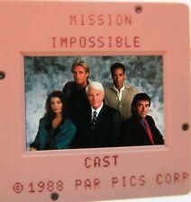 MISSION IMPOSSIBLE CAST PETER GRAVES Jim Phelps PHIL MORRIS  ORIGINAL SLIDE 4
