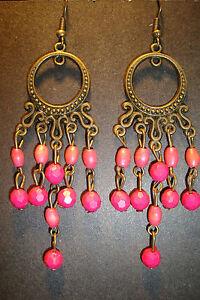 Large Long Indian~Asian Ethnic Boho Chandelier Earrings~ER150~uk ...