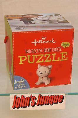JINGLE INTERACTIVE STORY BUDDY PUZZLE~HALLMARK~36 PIECES~NEW BOX~~FREE SHIP US~