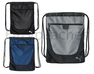 Image is loading PUMA-Carry-Sack-w-Pocket-Drawstring-Backpack-School- 0e2bee43cc0d7