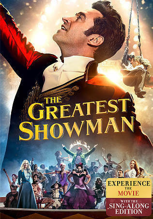 The Greatest Showman DVD, 2018  - $7.00