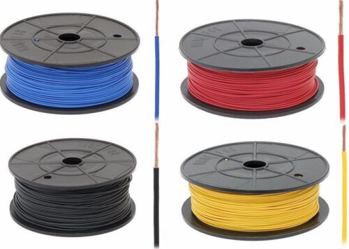 Cable Cable de alambre trenzado de automóviles de equipos Hook-Up 20AWG 18AWG 16AWG 13AWG