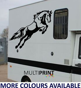 Horse Box Graphics Stickers Decals Self Adhesive Vinyl Decals Hor1 Ebay
