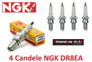 7162-4-Candele-NGK-DR8EA-per-HONDA-CB-650-C-Custom-dal-1980-gt-1982