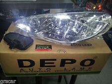 Faro Anteriore Sinistro SX Peugeot 206 Nuovo DEPO 34830 550-1121L-LD-EM