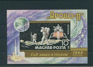 Hongrie-Hungary-1969-Mi-Bloc-72-A-Neuf-MNH-Espace-Astronautique-Espace