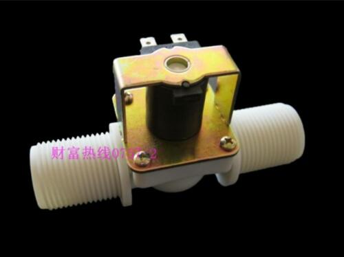 """New 1/"""" DC 12V Normally Closed N//C Water Inlet Flow Switch Electric Solenoid Valv"""