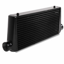 UNIVERSAL SPORT 595x300x85mm BLACK EDITION FRONT MOUNT INTERCOOLER CORE FMIC