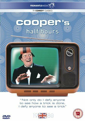 1 of 1 - Cooper's Half Hours (DVD, 2007) Tommy Cooper - 6 episodes from 1980 - magic! ^