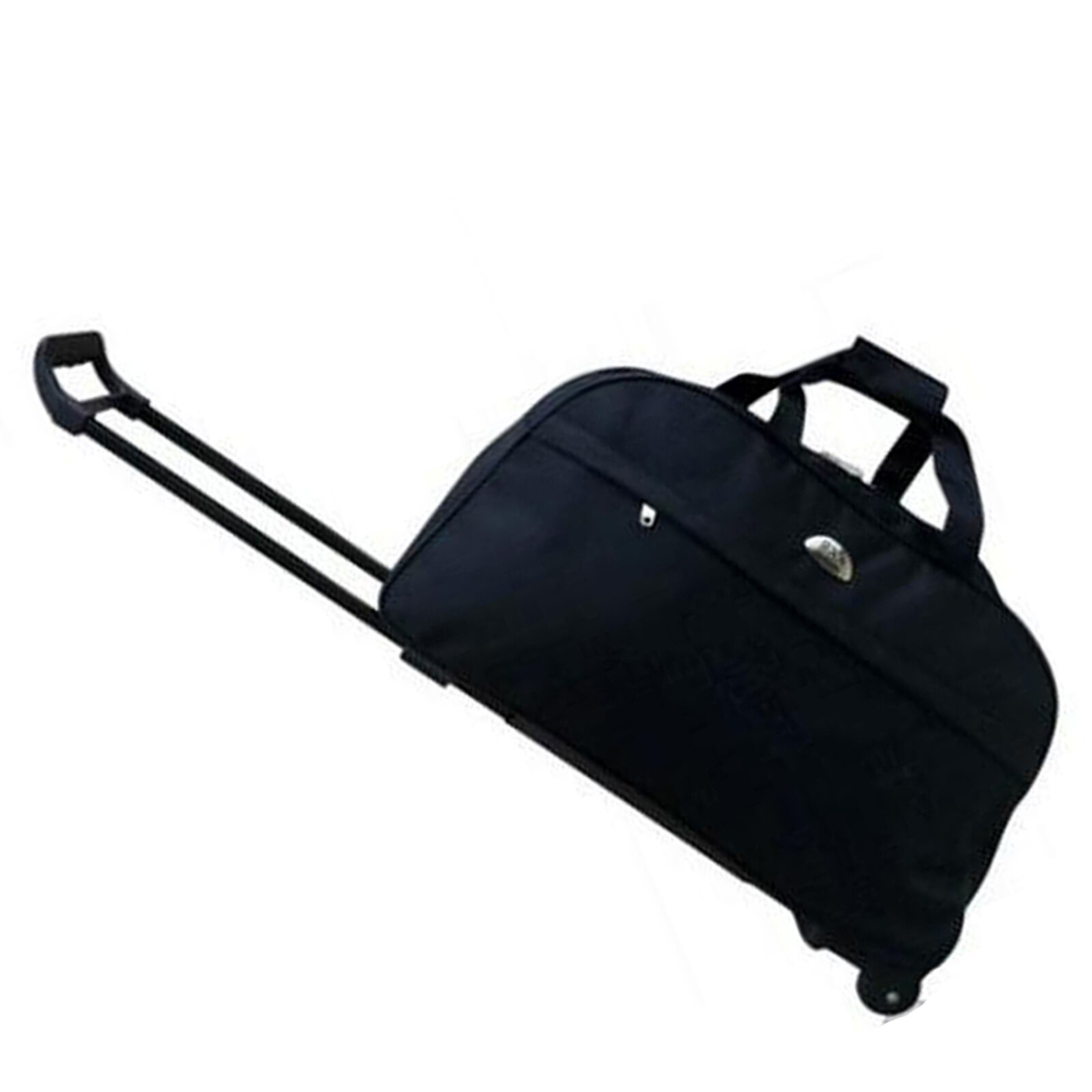 """14"""" Rolling Wheeled Duffle Trolley Bag Tote Carry On Travel Suitcase Luggage"""