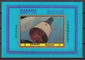 FäHig Manama Mi Cat 1088 Bl217 A.gemini 6 S / Blatt