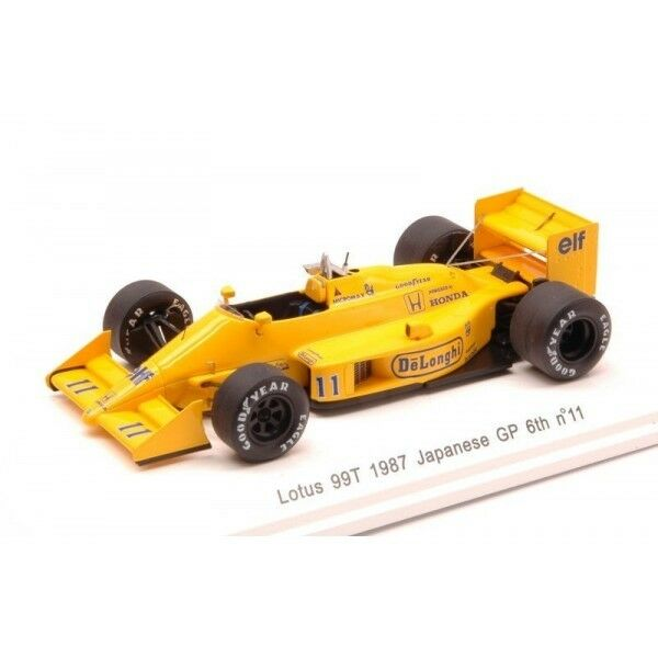 Reve Collection Reve70184 Lotus 99tb S.nakajima 1987 N.11 6th Japan Gp (2131328)