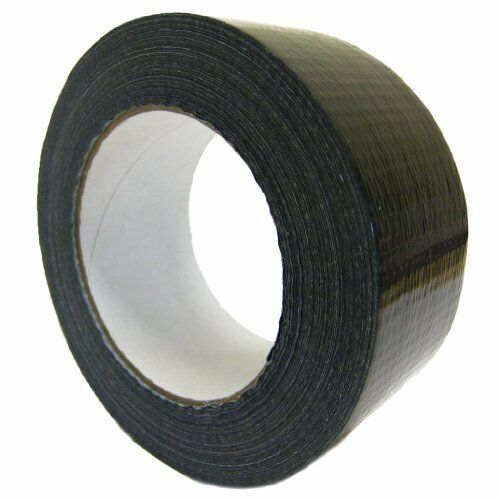 All Trade Direct 1 X Black Gaffer 50Mm X 50M Waterproof Adhesive Cloth Duct Tape