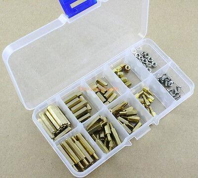 M3 Brass Spacer Standoff / Screw / Nut Assortment Kit