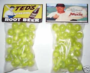 2 Bags Of Dads Old Fashion Root Beer Soda Promo Marbles