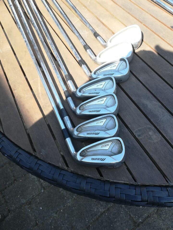 Herre golfsæt, stål, Mizuno Mx17
