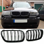 BMW-E83-X3-LCI-07-10-front-gloss-black-kidney-grille-grilles-grills-double-dual thumbnail 1