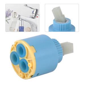 Neu-35mm-Blau-Kueche-Keramik-Kartusche-Armaturen-Patrone-Steuereinheit-Bathroom